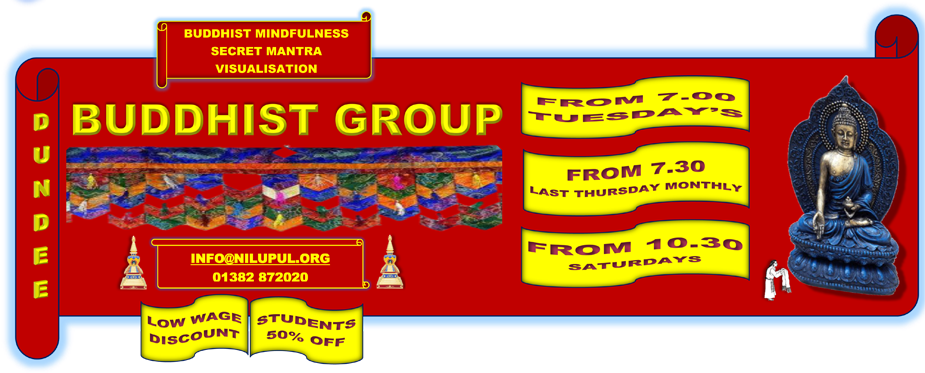 Dundee Buddhist Group header image